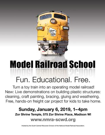 2019 Rail School Flyer