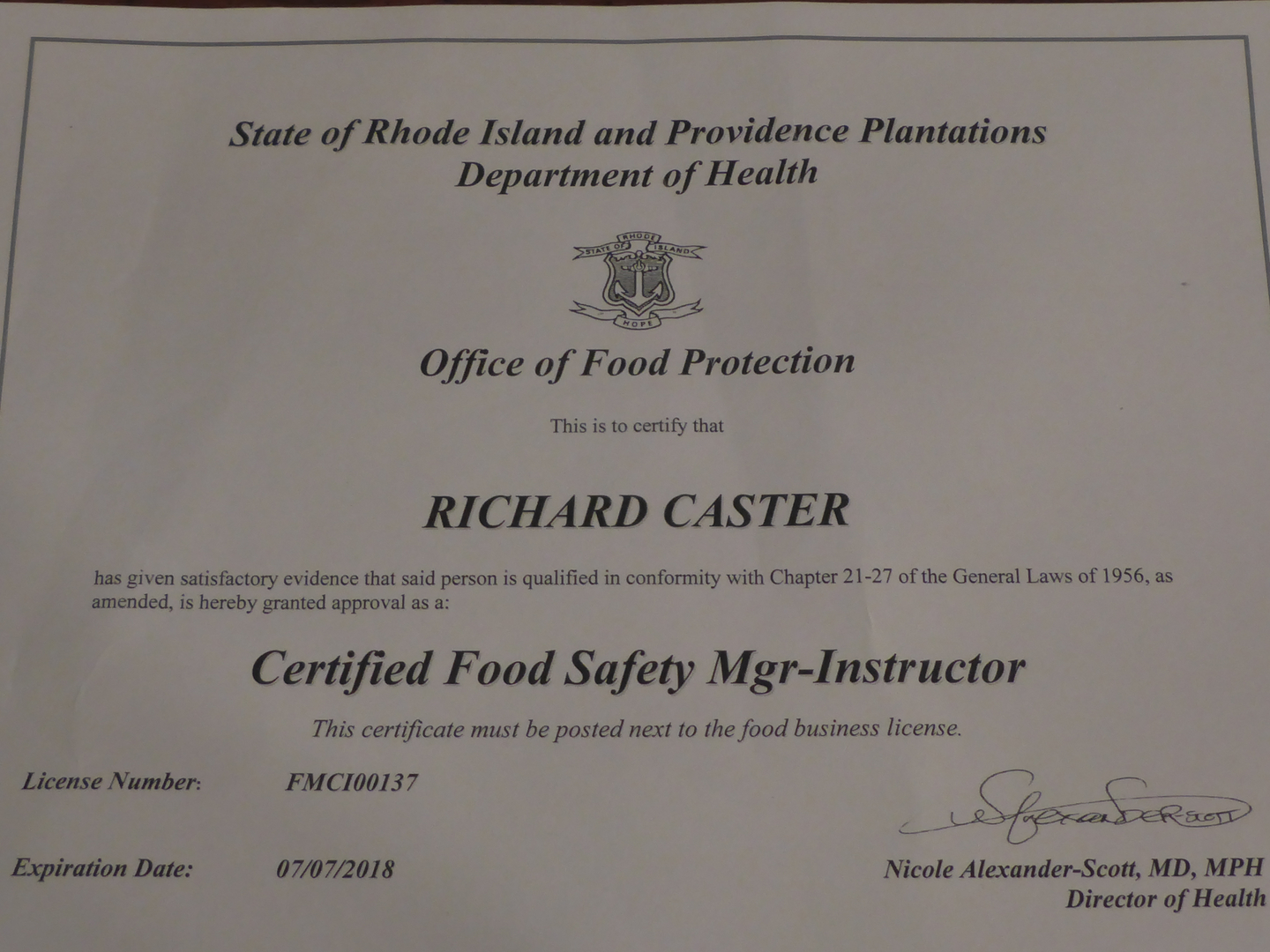 Food safety manager classes food safety manager classes 1betcityfo Choice Image
