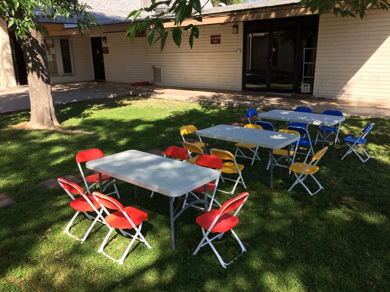 Outdoor chair rentals - Az