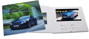 Hard Cover Video Booklet Video Brochure and Video Business card video greeting card, video in print, video book Images