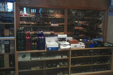 Image of Cigar Shop located at Quick N Shine Carwash on Gilbert and Warner Rd