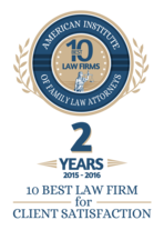 Charlotte Custody Lawyer, Best Client Satisfaction Award