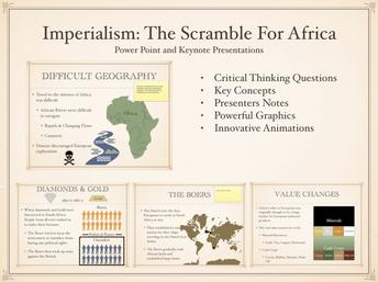 The Scramble For Africa History Presentation
