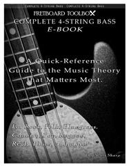 Complete 4-String Bass E-Book Fretboard Toolbox