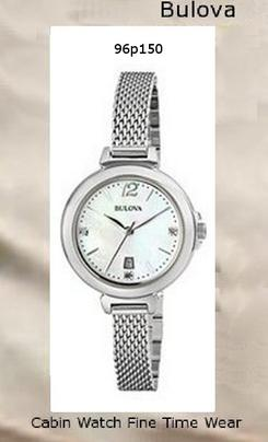 Bulova Watches 96P150,bulova