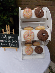 donut wheel sweet dreams candy cart