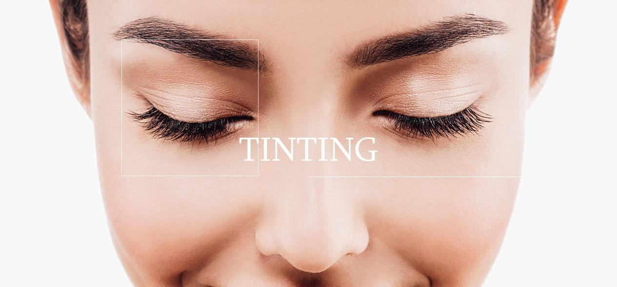 Learn about Lash and Brow Tinting!