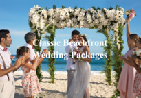 Classic Beachfront All Inclusive Wedding Packages