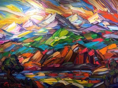 Natural Accents Gallery of Taos, Featuring the fine art paintings of Greg Dye