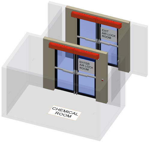 Carey Automatic Door - Electro Pneumatic Automatic Door