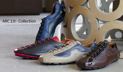 The Añel ARC 2.0 Collection shoes are 100% Made in Italy with the finest materials.