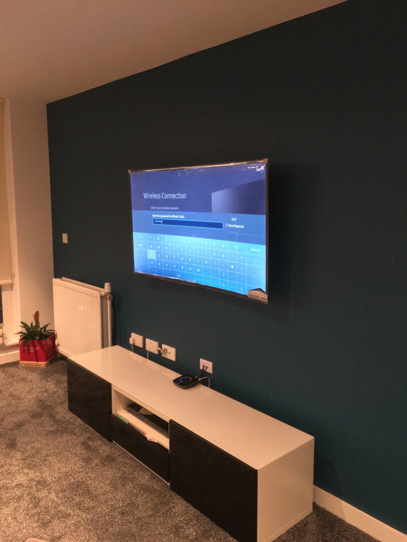 Glasgow Handyman Services - TV Wall Mounting Service
