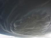 Standing underneath supercell!