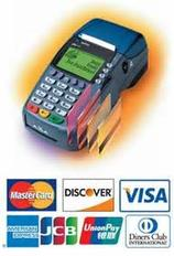 Accept credit card payments Services