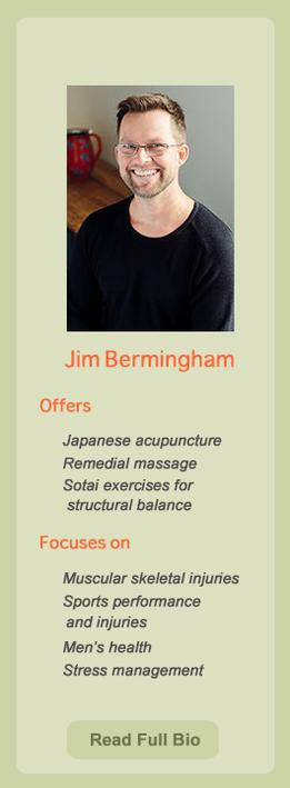 Jim Bermingham, practitioner at Ondol Clinic, Toowong, Brisbane