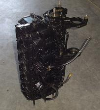 Used shortblock for a 1974 115 hp Mercury outboard motor.