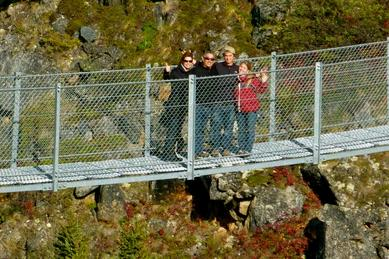 The Brave the Bridge tour option is a guided private tour option out of Skagway Alaska taking you to Yukon Suspension Bridge