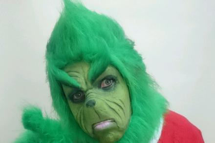 Hire The Grinch! Party Character