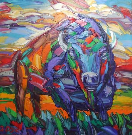 The Natural Accents Gallery of Taos - Exhibiting the works of Greg Dye, Oils Artist