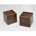 Black walnut paperweight boxes