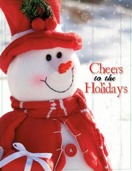 cheers to the holidays christmas catalog fundraiser