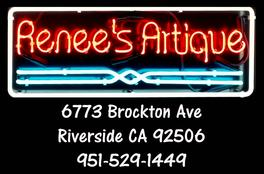 Renee's Artique Neon Sign Picture address and phone