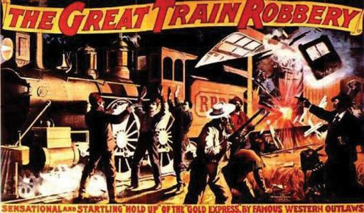 The Great Train Robbery poster ca. 1903