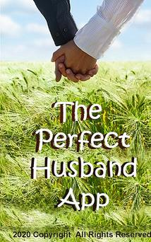 cover of perfect husband ocean background, man and woman's hands foreground