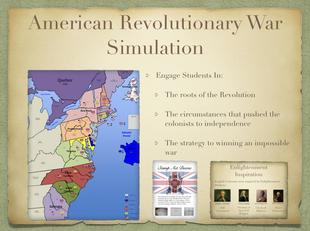 The American Revolution Game