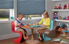 safety with motorized shades
