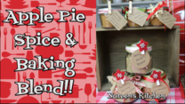 Apple pie spice and baking blend header, noreen's kitchen