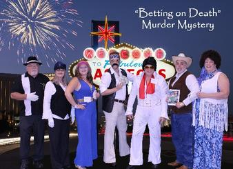 Cast for Host a Downloadable DIY Las Vegas Murder Mystery Party Kit: Betting on Death from Sue Price of Sand Springs, Oklahoma