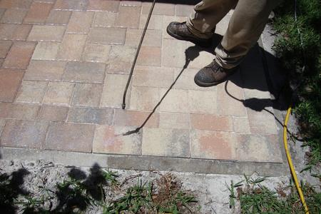 Stabilizing Paver Sand Joints with Seal & Lock