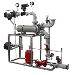 TriStar Ltd Hot Water Set with carbon steel piping