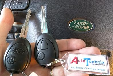 Land Rover Discovery 2 remote keys