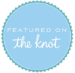 the knot featured vendor badge