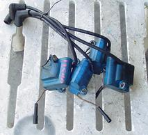 Used blue coils for a 125 hp Force outboard F684475 and 300-888791