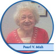 Pearl V. Mish a customer of All Clear Hearing Centers.