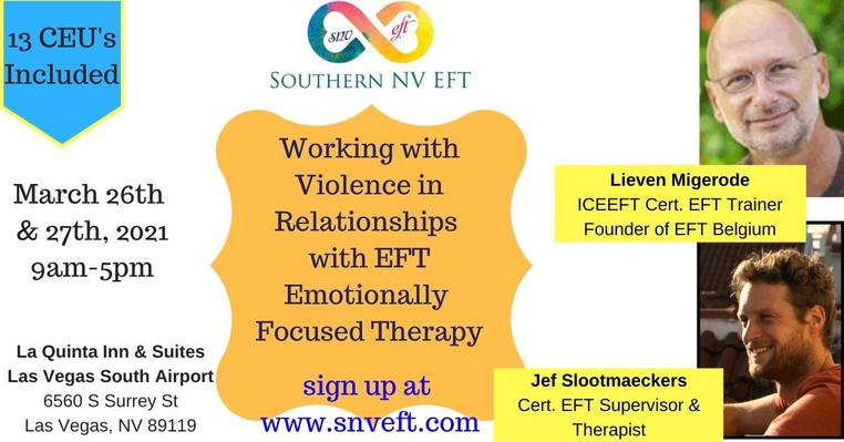 13 CEU SNVEFT Course for Therapists To Learn About Working With Violence In Relationships