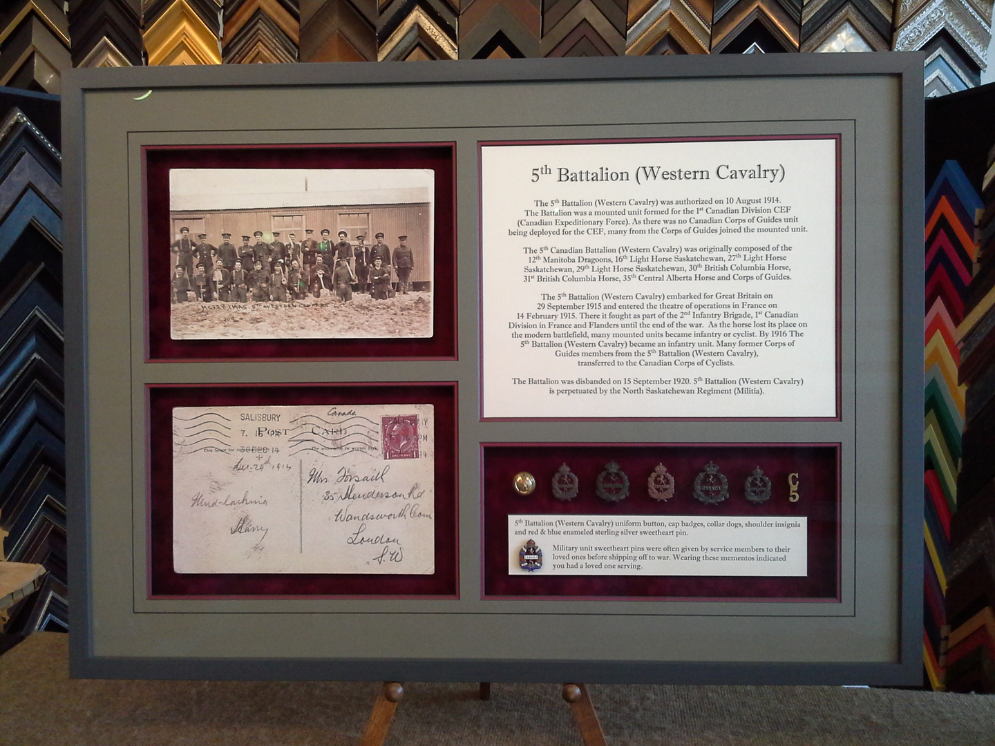 Military Medal Framing