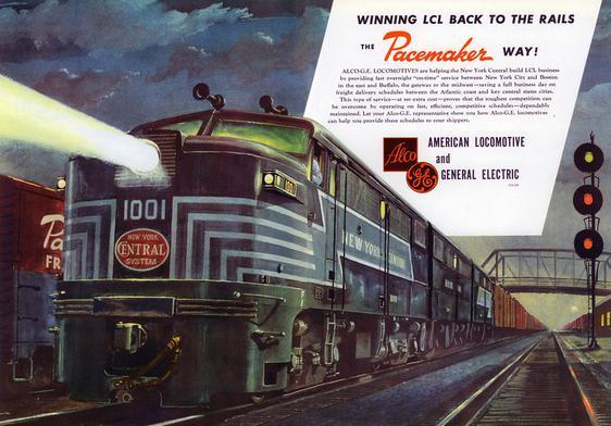 The Alco Fa Diesel Locomotive