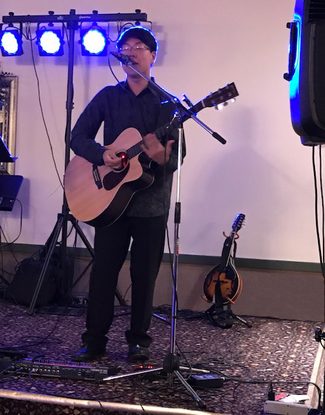 Kyle Langlois Music at the Beer & Wine Tasting Fundraiser for Lorraine's Soup Kitchen, Chicopee, MA