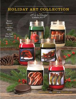Import Designs Christmas Candles Fundraiser