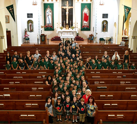 St. Rose-McCarthy Catholic School in Hanford, CA