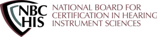 National Board for Certification in Hearing Instrument Sciences Logo