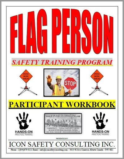 Flag Person Training - ICON SAFETY CONSULTING INC.