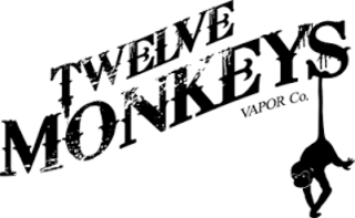 12 Monkeys ejuice available at The Ecig Flavourium Toronto vape shop