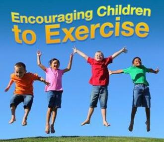 encouraging children to exercise