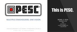 What is PESC? This is PESC - The Postsecondary Electronic Standards Council | Leading the establishment & adoption of trusted, open data standards across the education domain