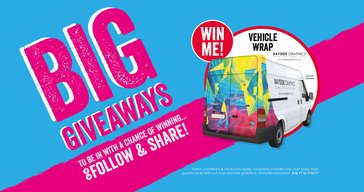 win van graphics from Bayside Graphics